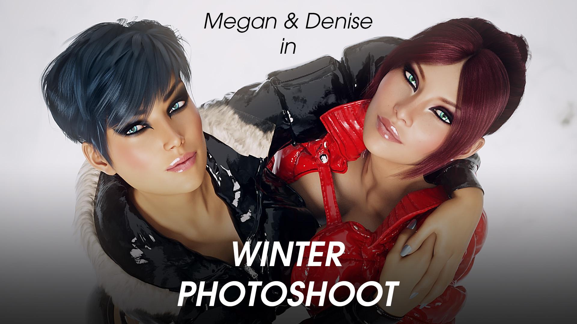 Winter Photoshoot - Miki3dx